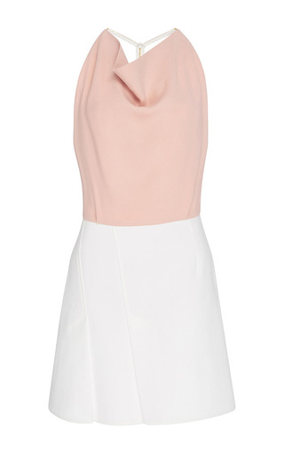 Medium roland mouret light pink paget ttd dress