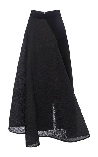 Medium roland mouret black black bubble offley skirt