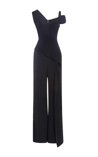 Medium roland mouret black tilson jumpsuit