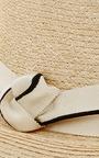 Lillian Striped Ribbon Fedora by EUGENIA KIM Now Available on Moda Operandi