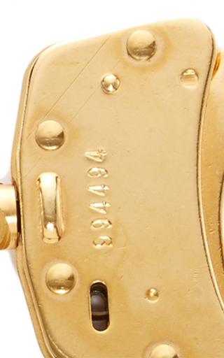 24k Gold Handcuffs With Key And Chain by KIKI DE MONTPARNASSE Now Available on Moda Operandi