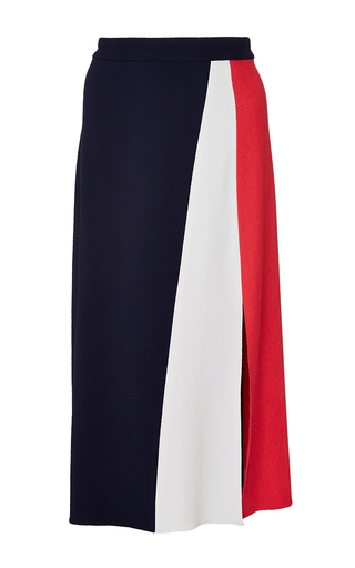 Medium tanya taylor navy red white and blue gigi skirt