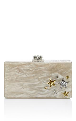 Medium edie parker nude jean star cluster short rectangular box clutch