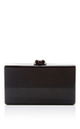 Jean Rosebud Short Rectangular Box Clutch by EDIE PARKER Now Available on Moda Operandi