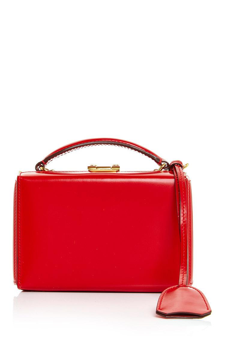 a2f4f5d593e0 Mark CrossMini Red Grace Box Bag in Dover Leather. CLOSE. Loading