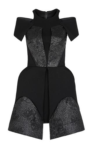 Medium maticevski black tarantula mini dress