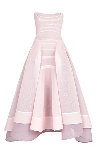 Medium maticevski light pink pink mesh complexity dress