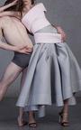 Light Pink Montage Bodice by MATICEVSKI Now Available on Moda Operandi
