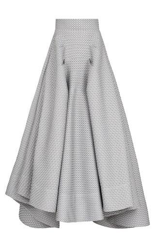 Medium maticevski dark grey atomic full skirt