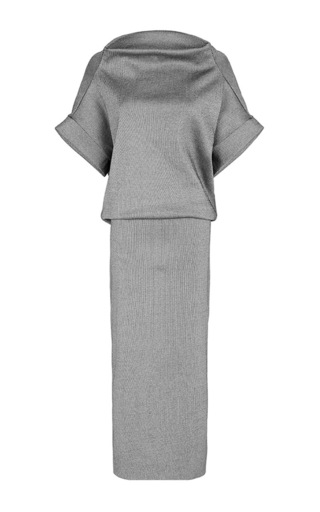 Illusive Off Shoulder Pencil Dress by MATICEVSKI Now Available on Moda Operandi