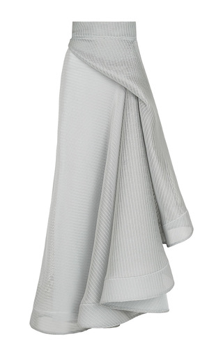 Medium maticevski light grey rogue full skirt