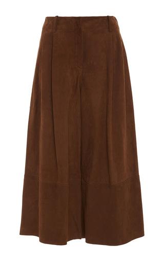 Medium joseph brown tai cropped suede culottes