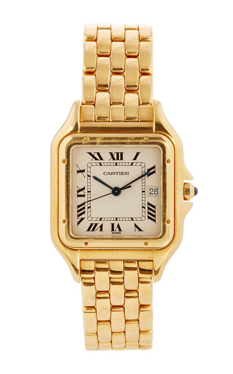 Mens 18K Gold Vintage Cartier Large Panthere by LSC Design Estate