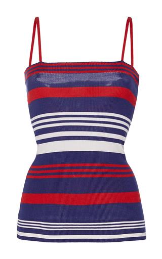 Medium dolce gabbana multi silk knit striped camisole top