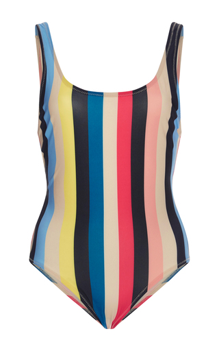 The Anne Marie Striped One Piece Swimsuit by SOLID & STRIPED Now Available on Moda Operandi
