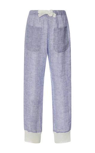 linen lounge pants - Pi Pants