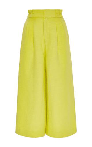 Medium apiece apart yellow linen cotton taiyana wabi culottes