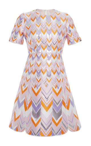 Chevron Mini Dress by GIAMBATTISTA VALLI Now Available on Moda Operandi