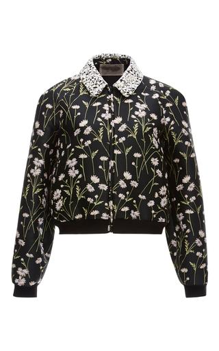 Floral Bomber Jacket by GIAMBATTISTA VALLI Now Available on Moda Operandi