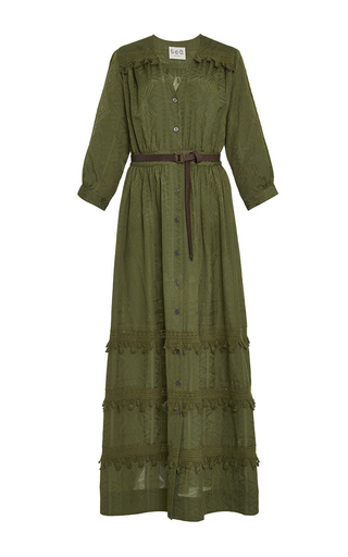 Button Down Tassel Dress by SEA Now Available on Moda Operandi