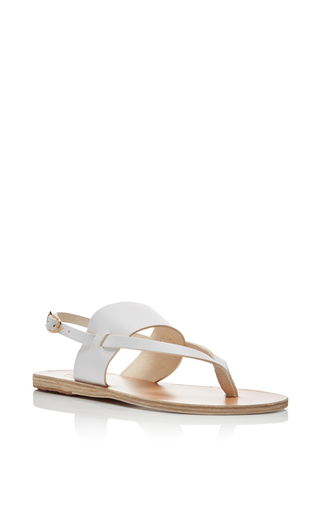 Zoe Thong Toe Sling Back Sandals  by ANCIENT GREEK SANDALS Now Available on Moda Operandi