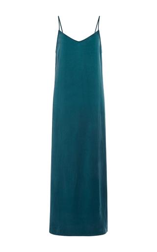 Medium equipment blue blue silk racquel slip dress
