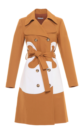 Medium vivetta brown gisella trench coat