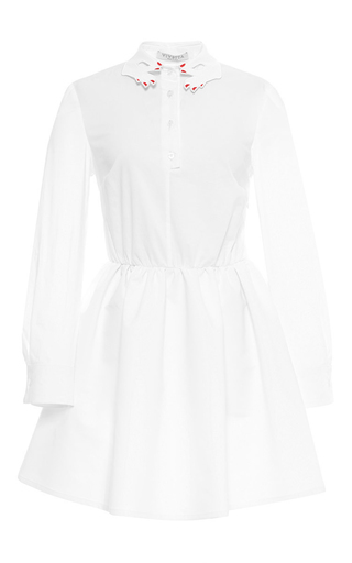 Medium vivetta white sabina skater dress