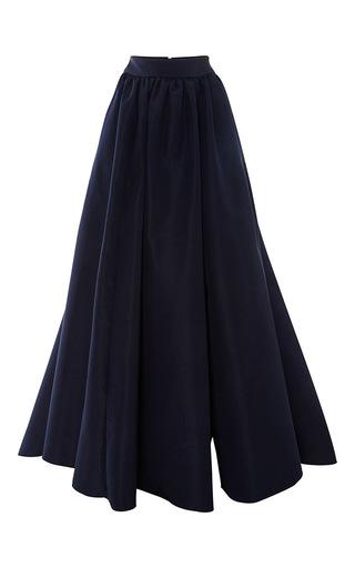 Medium marchesa navy silk faille full skirt