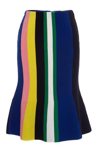 Medium j w anderson blue blue ottoman stripe skirt