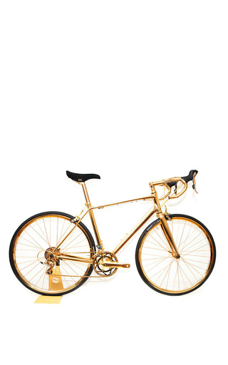 Medium gold genie gold 24k gold racing bike