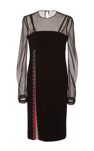 Medium mary katrantzou black embroidered arapova dress