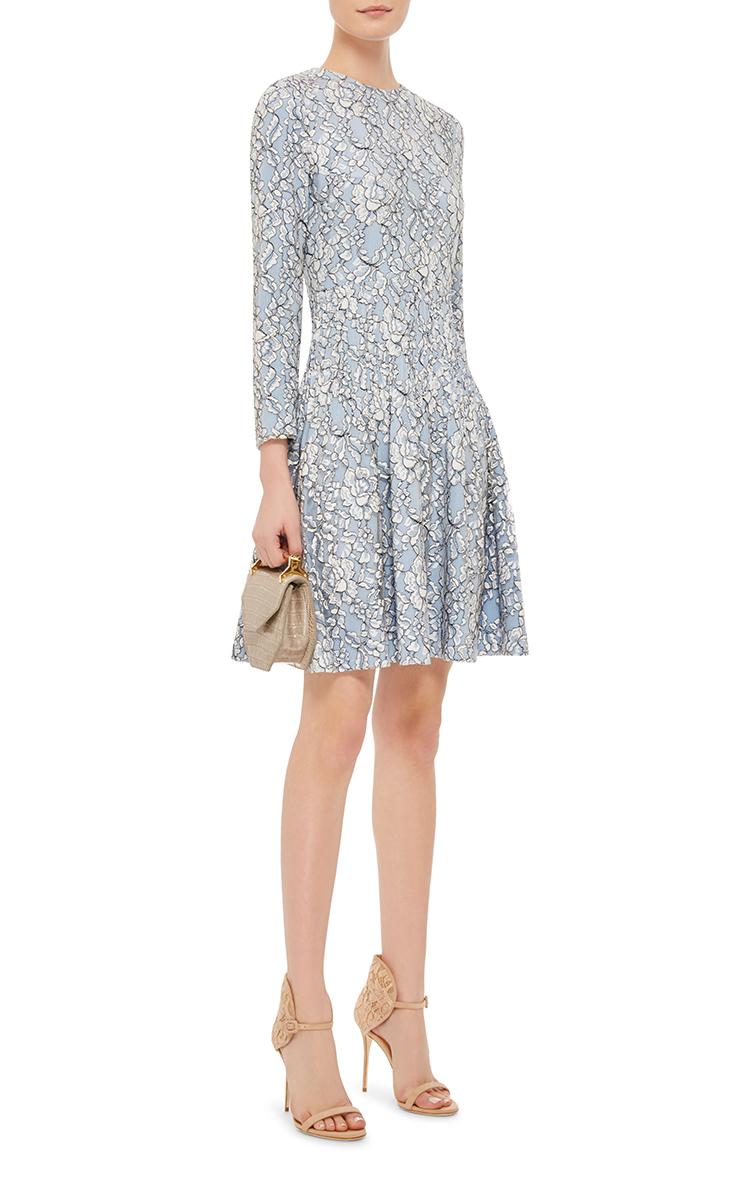 Waist By Lace Moda Operandi Huishan Dress Pintuck Zhang dq7td