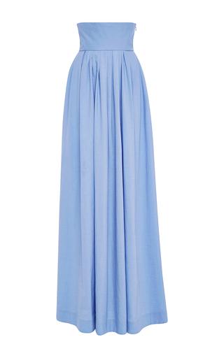 Medium rosie assoulin light blue morning after cotton maxi skirt