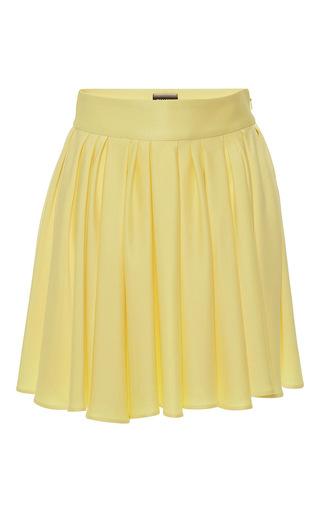 Medium fausto puglisi yellow gathered mini skirt