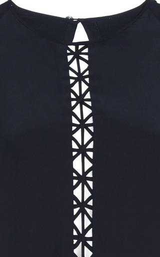Crossbar Silk Romper by JONATHAN SIMKHAI Now Available on Moda Operandi