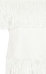 Strapless Fringe Top by JONATHAN SIMKHAI Now Available on Moda Operandi