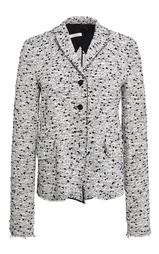 Cotton Tweed Jacket by NINA RICCI Now Available on Moda Operandi