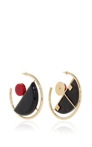 Modernim Hoop Earrings by MARNI Now Available on Moda Operandi