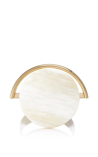 Circular Horn Cuff Bracelet by MARNI Now Available on Moda Operandi