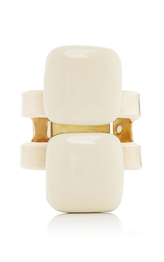Two Bead Resin Cuff Bracelet by MARNI Now Available on Moda Operandi