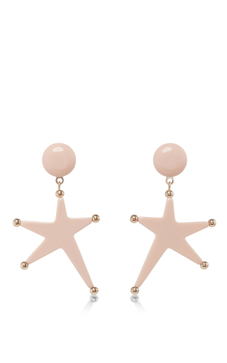 Star Pendant Earrings by MARNI Now Available on Moda Operandi