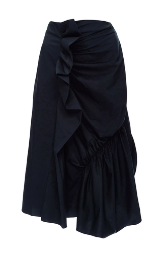 Cotton Blend Gathered Skirt by J.W. ANDERSON Now Available on Moda Operandi
