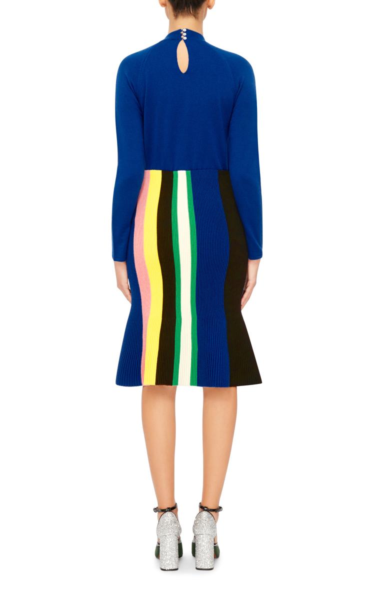 71b9d4d30 JW AndersonOttoman Striped Knit Skirt. CLOSE. Loading. Loading