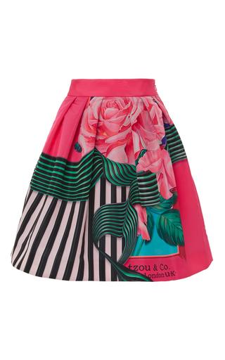 Medium mary katrantzou multi algernon graphic rose print skirt