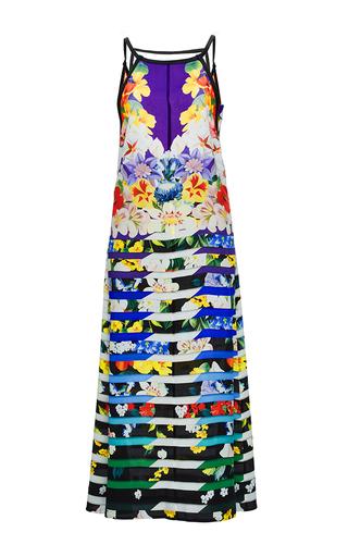 Rebel Silk Printed Maxi Dress by MARY KATRANTZOU Now Available on Moda Operandi