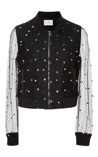 Sparkle And Mesh Bomber Jacket by MARY KATRANTZOU Now Available on Moda Operandi
