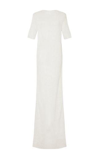 Braided Body Con Maxi Dress  by NINA RICCI Now Available on Moda Operandi