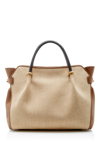Sheepskin And Leather Le Marche Bag  by NINA RICCI Now Available on Moda Operandi