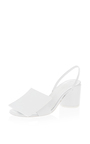 Square Leather Heel by JACQUEMUS Now Available on Moda Operandi
